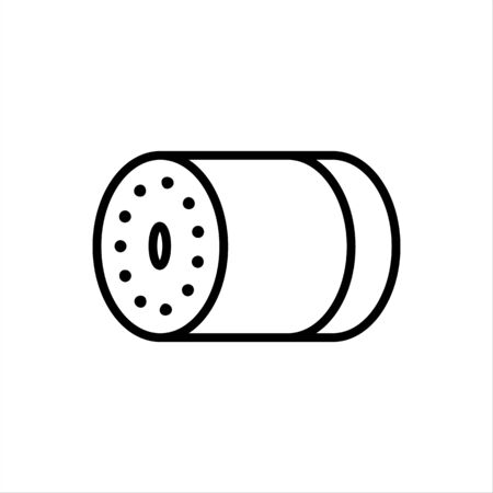 Security camera vector icon CCTV sign for graphic design, web site, social media, mobile app, ui