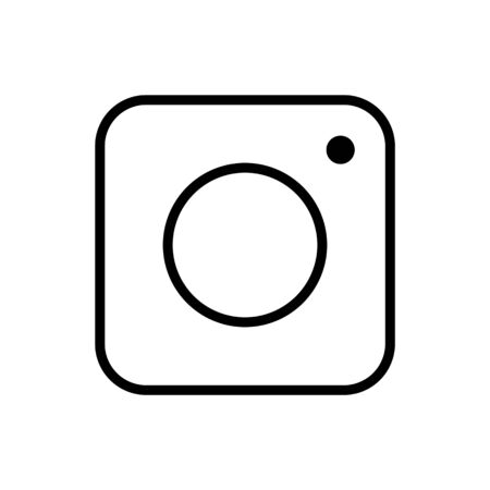 Camera icon vector for graphic design, logo, web site, social media, mobile app, ui vector illustration