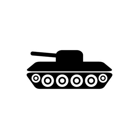 Tank war army icon vector military concept for graphic design, web site, social media, mobile app, ui illustration Ilustrace