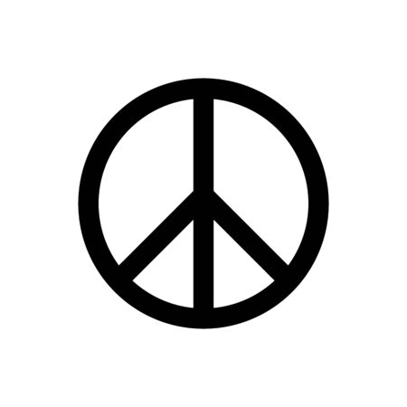 Peace sign icon vector for graphic design, web site, social media, mobile app, ui illustration