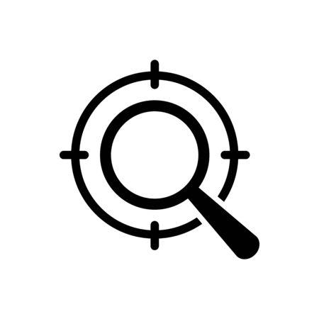 Seo icon vector digital marketing for graphic design, logo, web site, social media, mobile app, ui illustration