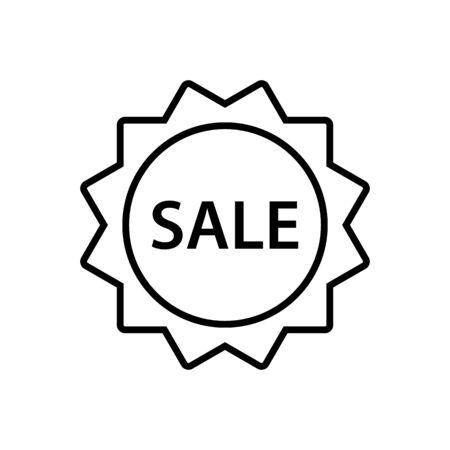 Sale icon vector for graphic design, logo, web site, social media, mobile app, ui illustration