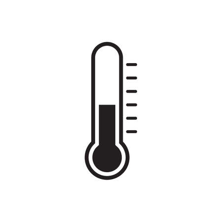 Thermometer vector icon for graphic design, logo, web site, social media, mobile app, ui illustration