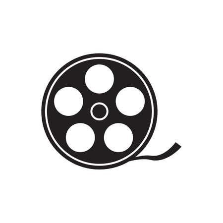 Movie vector icon video sign cinema symbol for your web site design, app, UI. Vector illustration Illustration