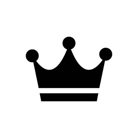 Crown flat icon vector for graphic design, logo, web site, social media, mobile app, ui illustration Ilustrace