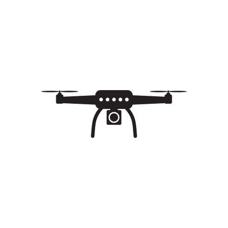 Drone quadrocopter with action camera icon vector for graphic design, web site, social media, mobile app, ui illustration