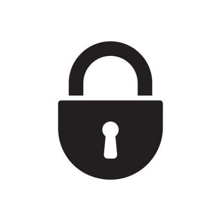 Padlock icon vector for graphic design, web site, social media, mobile app, ui illustration Ilustrace