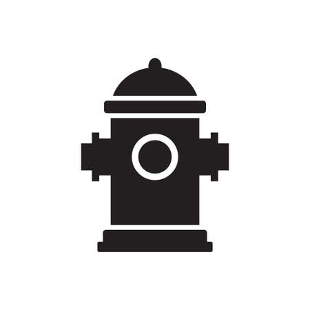 Fire Hydrant icon vector for graphic design, logo, web site, social media, mobile app, ui illustration