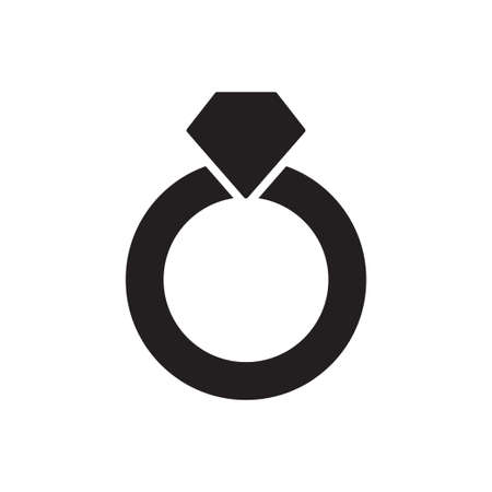 Ring icon vector for graphic design, logo, web site, social media, mobile app, ui illustration