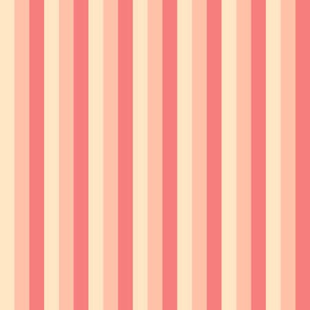 Seamless pattern stripe yellow and orange color Vertical pattern stripe abstract background vector illustration