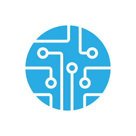 Circuit board, technology vector icon. For your web site design, logo, app, UI. Vector illustration