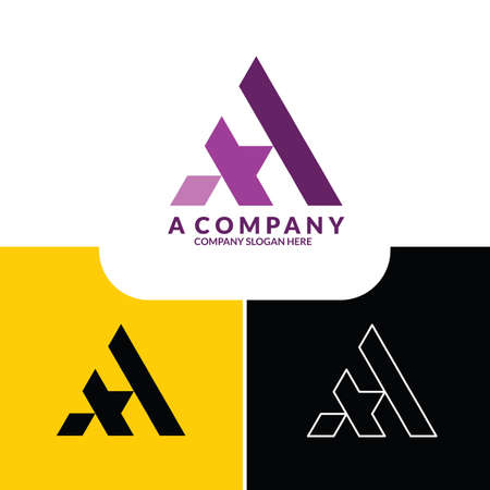 VECTOR LOGO LOGOTYPE LETTER X MODERN SIMPLE BUSINESS COMPANY Logo