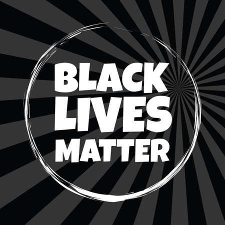 Black lives matter horizontal banner with protest fist in the air. Black lives matter graphic poster design template against racial discrimination 일러스트