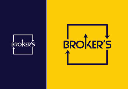 Broker's Business professional logo template