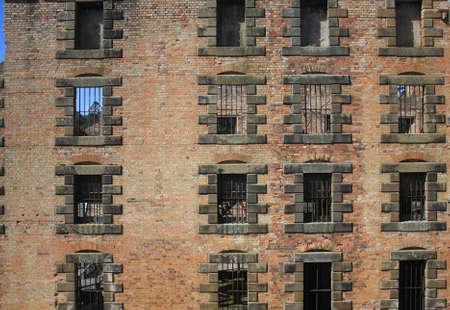 Barred windows Stock Photo - 9125821