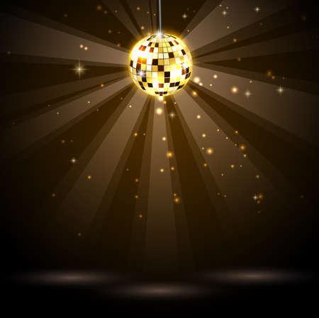 disco ball background Standard-Bild - 114008186