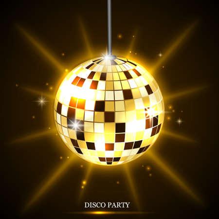 disco ball background Standard-Bild - 114008190
