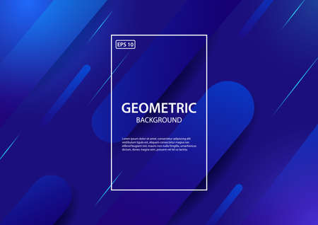 Abstract background.Trendy gradient shapes composition. Vector illustration
