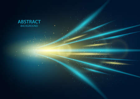 High speed, Abstract technology background. Vector illustration