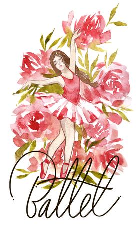 Girl Dancing Ballet, Future Professional Ballerina Dancer