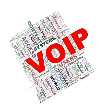 ip: Illustration of wordcloud word tags of concept of voip - voice over ip