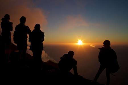 eolie: Sunset on Stromboli