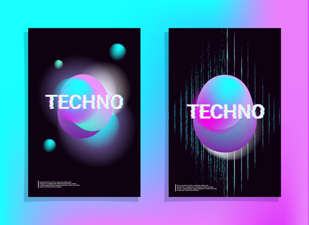 Electronic Music Poster. Cover Fest Flyer. Club Party Template. Music Fest Poster. Techno Electronic Banner. Night Sound House Event. Abstract Minimal Vector. Futuristic Concept Cover Promotion.