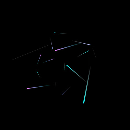 Fast Effect. Motion Neon Light Movement. Flow Light Trail. Neon Element Futuristic Design. Abstract Glowing Lines Movement Concept. Minimal Modern Dynamic 3D Static Effect. Techno Vector illustration.