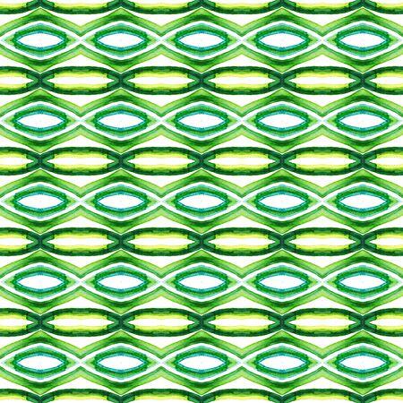 Geo Art. Endless Repeat Painting.  Mandala, Medallion, Floral, Flower Ornament. Geo Surface. Native Modern Carpet. Blue, Green  Texture. Geometrical Print.