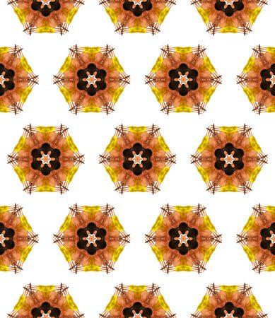 Geo Texture. Hand Drawn Painted. Tunisian, Turkish, Arab, Arabesque Seamless Pattern. Ethnic Texture. Vintage Native Bed Linen. Red, Orange Tile. Herringbone Mosaic.