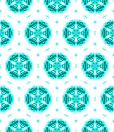 Ethnic Surface. Hand Drawn Painted. Azulejo, Portuguese, Spain, Islam, Arabic  Seamless Pattern. Chevron Geometric. Old Bed Linen. Blue, Indigo Art. Organic Surface. Zdjęcie Seryjne
