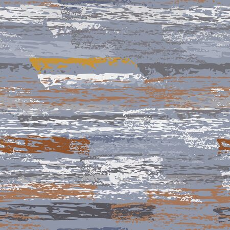 Horizontal  Brush Stroke Surface. Pinstripe Endless Repeating Elements. Chalk Pattern. Summer Khaki and Camo Backdrop. Abstract Charcoal Surface. Brush Vector Background.