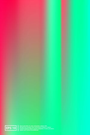 Iridescent, Blurred Gradient Mesh.  Multicolor Screen Iridescent, Minimal, Blurred Background.  Vibrant, Iridescent, Trend Concept. For Web Applications, Mobiles, Screen Template.