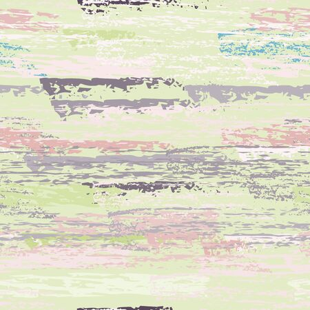 Distressed Stripes. Chalk Textures Surface. Seamless Pattern. Chalk Print. Creative Khaki and Camo Backdrop. Texture Scratch Overlay Surface. Brush Vector Background.