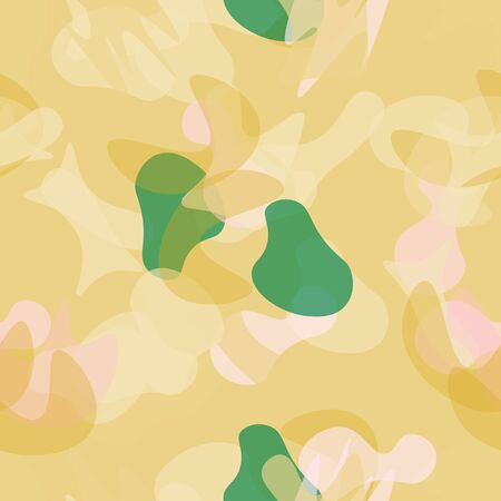 Camouflage Seamless Pattern. Texture Military Camouflage Endless Repeats. Vector Camo Fabric. Camo Sports Surface Textile. Woodland Concept Seamless Pattern. Sport Army Hunting. Fashion Print Surface. Stock Illustratie