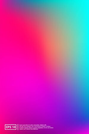 Iridescent, Modern Image. Pastel Colors. Multicolor Screen Iridescent, Soft, Modern Gradients. Rainbow, Fluid, Screen Effect. For Web Applications, Mobiles, Screen Template.
