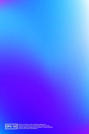 Iridescent, Blurred Gradient Mesh.  Blue Screen Iridescent, Minimal, Blurred Background.  Saturated, Fluid, Party Background. For Web Applications, Mobiles, Screen Template.