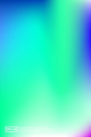 Iridescent, Modern Image. Pastel Colors. Blue Screen Iridescent, Soft, Modern Gradients. Color, Mesh, Modern Effect. For Web Applications, Mobiles, Screen Template.