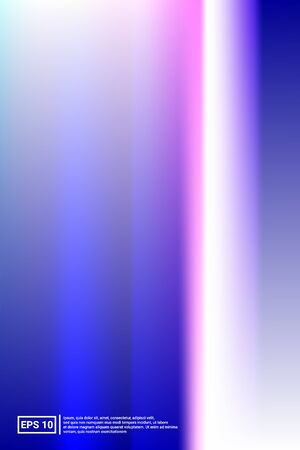 Iridescent, Blurred Gradient Mesh.  Blue Screen Iridescent, Minimal, Blurred Background.  Vivid, Bokeh, Party Concept. For Web Applications, Mobiles, Screen Template.