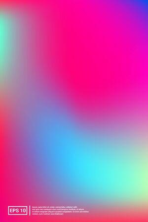 Holographic, Blur, Foil Hologram. Pastel Color. Multicolor Screen Holographic, Soft, Foil Background.  Vivid, Light, Trend Design. For Web Applications, Mobiles, Screen Template.