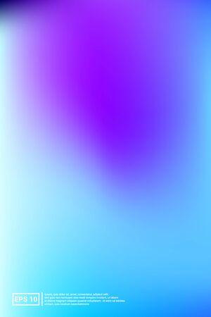 Holographic, Blur, Foil Hologram. Pastel Color. Blue Screen Holographic, Soft, Foil Background.  Soft, Holographic, Futuristic Banner. For Web Applications, Mobiles, Screen Template. Ilustrace