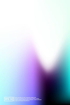 Holographic, Vector, Glossy Cover. Soft Color. Blue Screen Holographic, Pastel Cover Background.  Soft, Holographic, Screen Backdrop. For Web Applications, Mobiles, Screen Template.