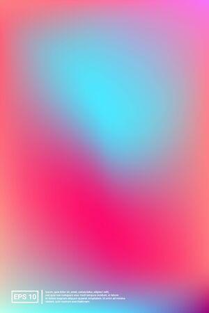 Rainbow, Gradient, Mesh Banner. Soft color. Multicolor Screen Iridescent, Web, Mesh Design. Vibrant, Bokeh, Celebration Backdrop. For Web Applications, Mobiles, Screen Template. Stock Illustratie