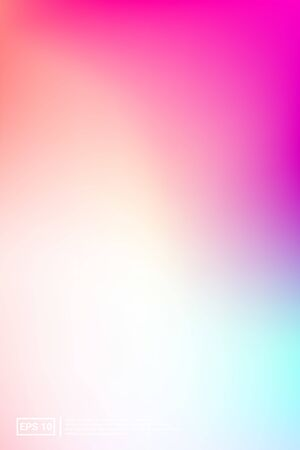 Holographic, Vector, Glossy Cover. Soft Color. Multicolor Screen Holographic, Pastel Cover Background.  Vibrant, Space, Trend Effect. For Web Applications, Mobiles, Screen Template. Stockfoto - 133831694