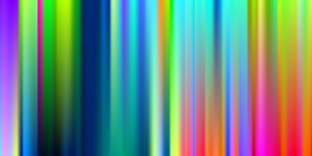 Iridescent, Web, Mesh Design. Rainbow, Gradient, Mesh Banner. Soft color. Futuristic Light, Celebration Background. For Web Applications, Mobile illustration, Template Design. Stock Illustratie
