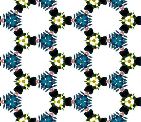 Geo Texture. Hand Drawn Painted. Talavera, Azulejos, Spain, Islam, Arabic Seamless Pattern. Geo Geometric. Geo Rug. Yellow, Green Pattern. Geometry Texture.