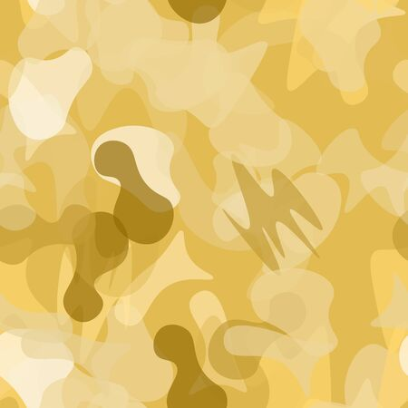 Camouflage Seamless Pattern. Texture Military Camouflage Endless Repeats. Vector Camo Fabric. Camo Sports Surface Textile. Woodland Concept Seamless Pattern. Sport Army Hunting. Fashion Print Surface. Illustration