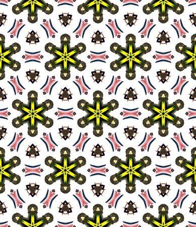 Ethnic  Art.  Mediterranean, Arab, Arabesque Seamless Pattern. Chevron Geometric. Geo Folklore Cloth. Purple, Pink Element. Herringbone .