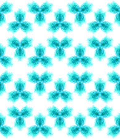 Ethnic Texture. Talavera, Azulejos, Portugal, Turkish Seamless Pattern. Geo Surface. Ethnic Woven. Blue, Indigo Design. Woven Tile.