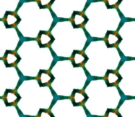 Ethnic  Art.  Mediterranean, Arab, Arabesque Seamless Pattern.  Surface. Traditional Carpet. Green, Mint,  Motif. Graphic Ornament.